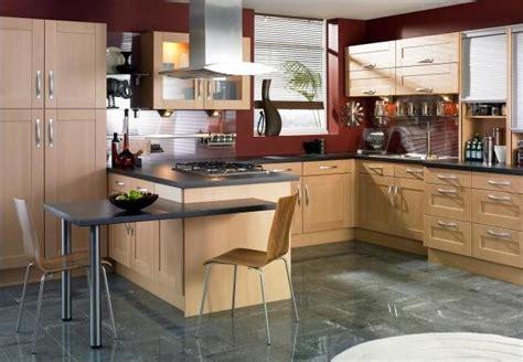 beech wood kitchen cabinets 191 c 243 mo decorar el desayunador de la cocina 4405