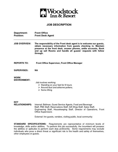 front desk resume sample resume examples front desk agent sample template best receptionist example writing - Front Desk Receptionist Resume Sample