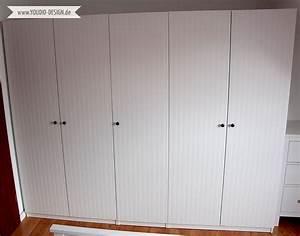 Ikea Schrank Pax : ikea hack pax kleiderschrank makeover mit beadboard wallpaper ~ Markanthonyermac.com Haus und Dekorationen