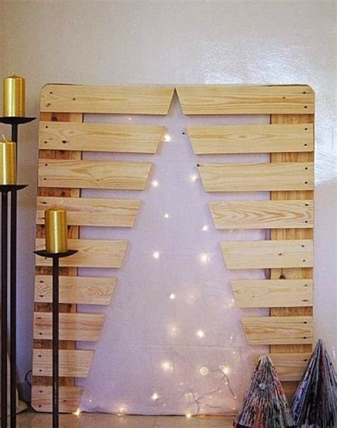 diy alternative christmas tree ideas  festive mood