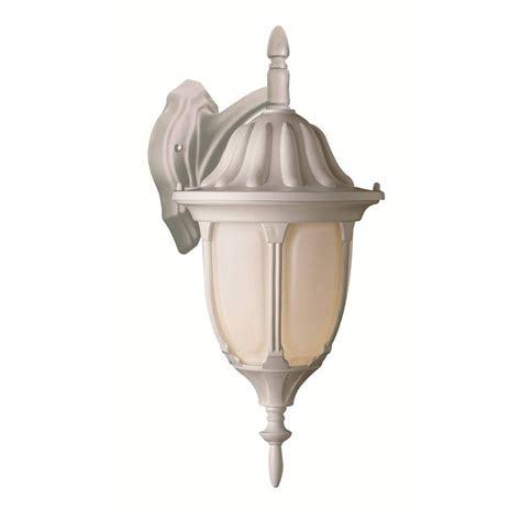 bel air lighting 1 light white wall lantern 4048 wh the home depot
