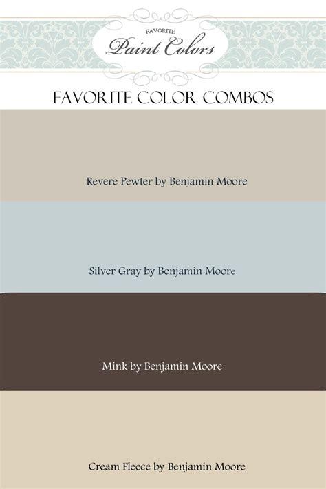 favorite paint colors color combination for revere pewter