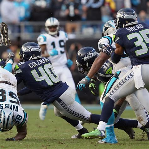 seahawks  panthers video highlights  recap
