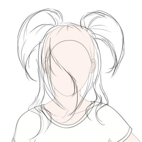 anime hairstyles drawing  getdrawingscom
