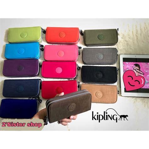 กระเป๋าสตางค์ Kipling Uzario 2 ซิป 👜 | Shopee Thailand