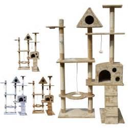 cat scratcher post foxhunter kitten cat tree scratching post activity centre