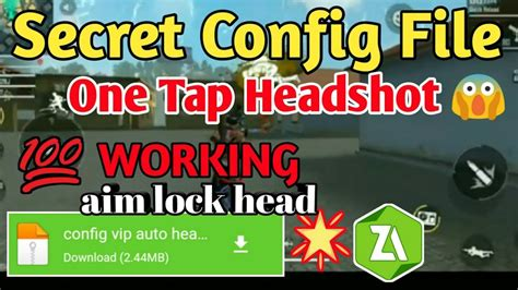 Free fire hack updated 2021 apk/ios unlimited 999.999 diamonds and money last updated: Free Fire One Tap Headshot Config File Psykiske spillere