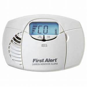 First Alert Battery Powered Carbon Monoxide Detector Alarm
