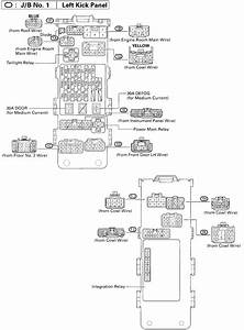 1995 Toyota Supra - Fuse Box Schematic - Question