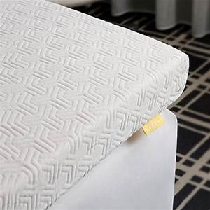 Gel Topper 200x200 : mehrsch umiger topper von uttu 2 lagig 6 cm kern waschbarer bezug gel topper aus gelschaum ~ Orissabook.com Haus und Dekorationen