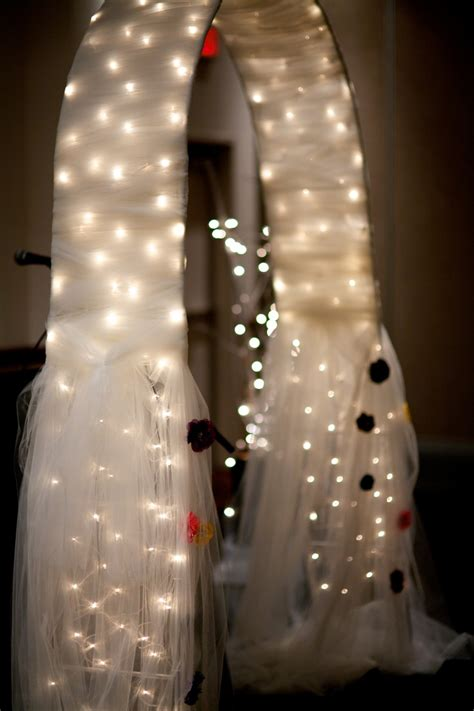17 Best Ideas About Wedding Arch Tulle On Pinterest Lake