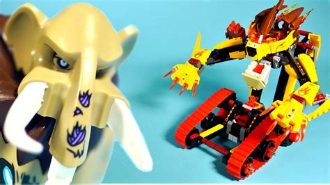 how to make a lava l lego chima 70144 laval s