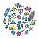 Beach Icons Behance Watching Thanks