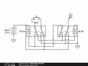toggle relay flip flop circuitlab With circuit diagram freeware screenshot easily make circuit diagrams