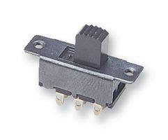 Slide Switch Dpdt Grey Unbranded Cpc