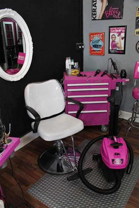 pink box small salon   home hair salons beauty