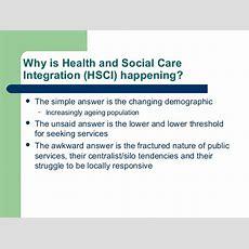 Health And Social Care Integration And Hiv  Gordon Scott