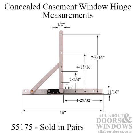 truth casement window hinge window brackets