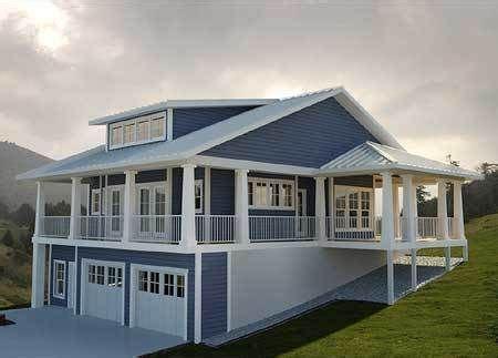 Plan 18233BE: Getaway with Wraparound Views in 2019
