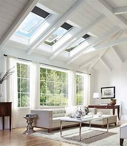 Velux Solar Powered  U0026quot Fresh Air U0026quot  Skylight