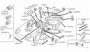 wiring body for 1986 nissan 300zx nissan parts deal With 1986 nissan 300zx wiring diagram