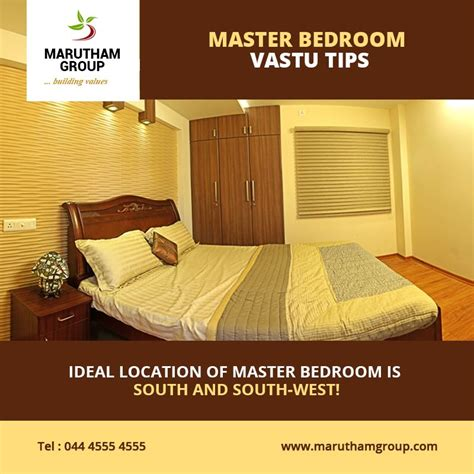 Vastu Bedroom Bed Direction by Master Bedroom Vastu Tips The Ideal Location Of A