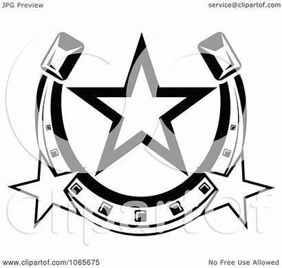 Horseshoe Clipart Icon Vector Royalty Illustration Graphics