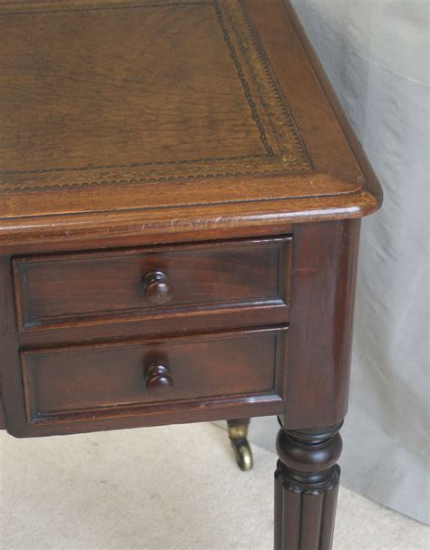 antique writing table by edwards roberts london ref 3031