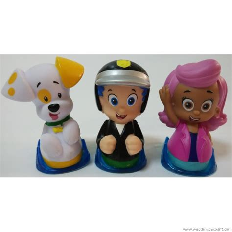 bubble guppies toy figures cake topper bubble guppies