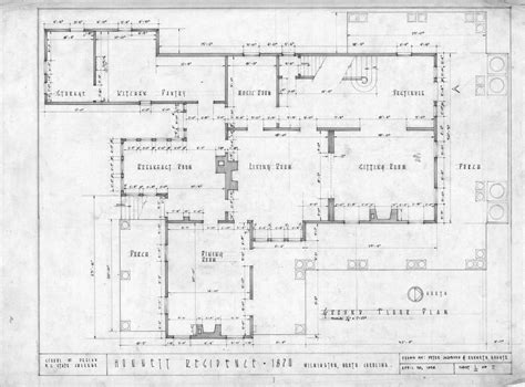 Historic Italianate Floor Plans