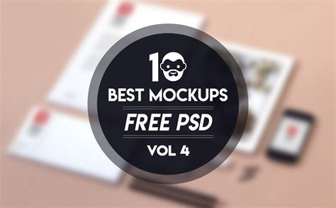 Free for personal and commercial use zip file includes: Download 10 Best Mockup Free PSD Vol 4 | PsdDaddy.com