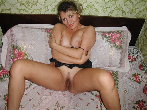 Russian Mature With Big Boobs And Hairy Pussy Russian