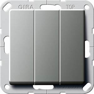 Elektro Online Shop 24 : gira 284420 taster 3fach schlie er 1polig online kaufen im voltus elektro shop ~ Watch28wear.com Haus und Dekorationen