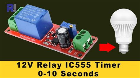 Timer Switch Relay With Adjustable Time Test