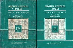 1991 Service Specs Book Original Ranger Explorer Aerostar