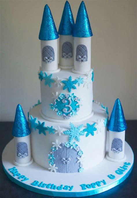 frozen castle cake cakes   frozen castle cake