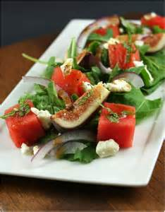 Fig & Watermelon Salad