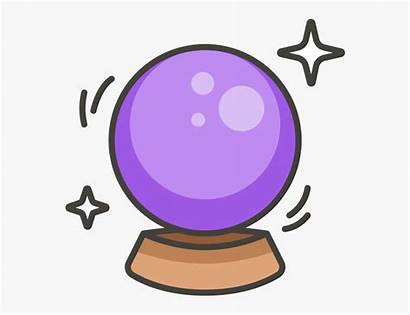 Crystal Ball Clipart Magic Transparent Clipartkey