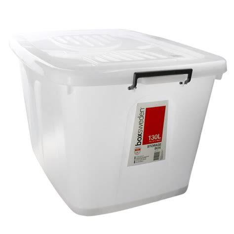 plastic storage tub 3 x 110l large plastic storage tubs containers tub with