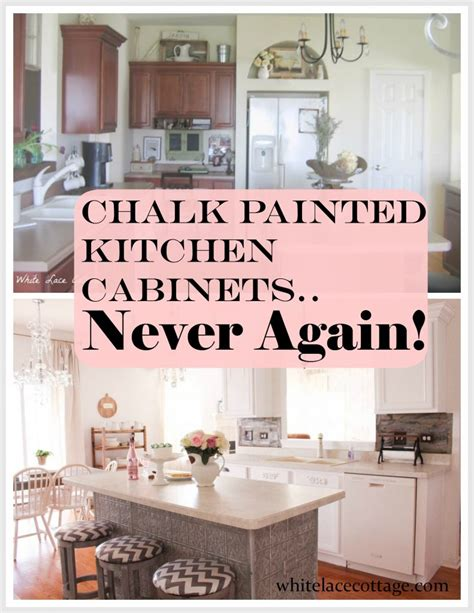 kitchen island with built in table chalk painted kitchen cabinets never again white lace