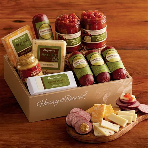 meat and cheese gift basket david and harry baskets mega deals and coupons