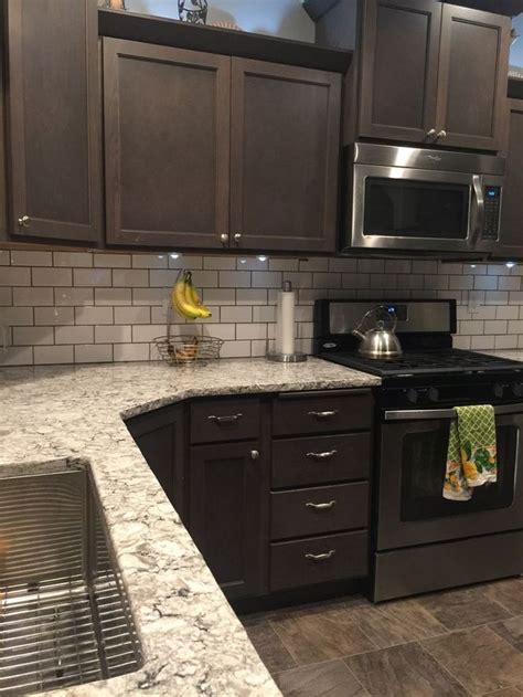 basic facts  dark wood kitchen cabinets