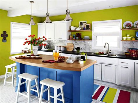 kitchen color ideas exceptional kitchen with colorful color idea also blue 6562