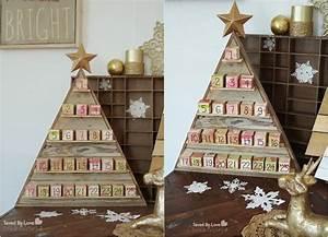Holz Geschenke Selber Machen : adventskalender aus holz basteln 15 originelle tannenb ume ~ Watch28wear.com Haus und Dekorationen
