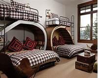unique bunk beds unique bunk beds Kids Rustic with bunk beds guest house ...