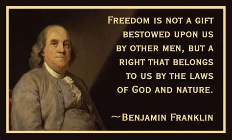 Ben Franklin Quotes Benjamin Franklin Quotes Freedom Quotesgram