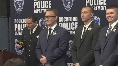 Rockford Police Department swears in five new officers