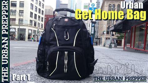 Urban Get Home Bag (part 1) By Theurbanprepper