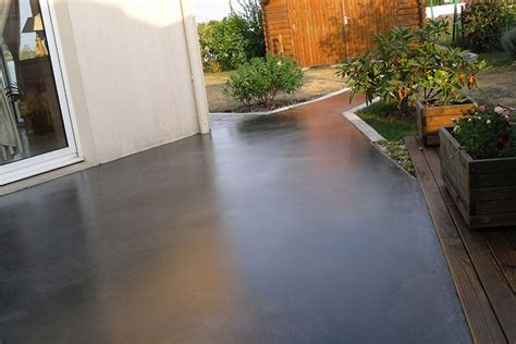 peindre une dalle en beton exterieur devis terrasse en b 233 ton mon devis fr