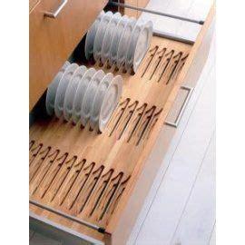 blumgrass plate rack drawer insert solid beech vertical plate storage ideias legais